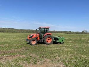 seeding and fertilizing crp land management
